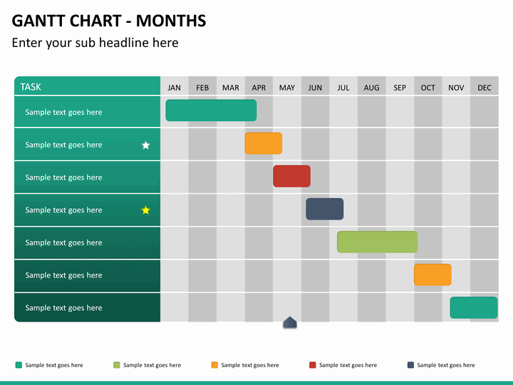 Gantt Chart Template Powerpoint Driverlayer Search Engine
