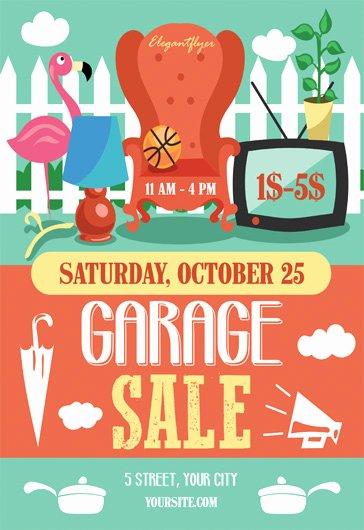 Garage Sale Flyer Psd Template – by Elegantflyer