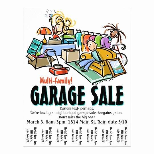 Garage Sale Moving Sale Yard Sale Custom Flyer