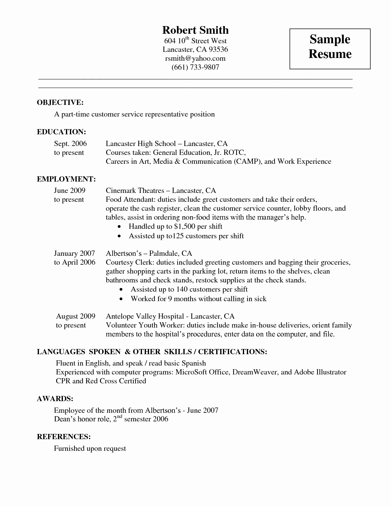 General Clerk Resume Summary Sidemcicek