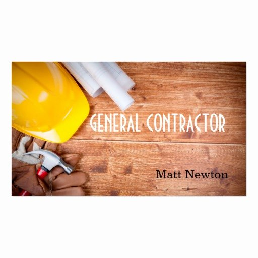 General Contractor Builder Manager Construction Double