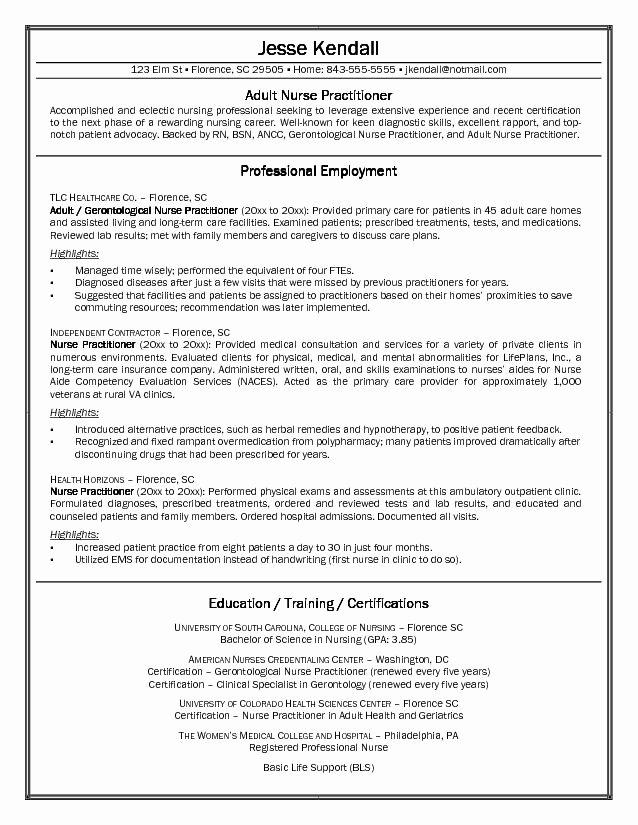 General Practitioner Resume Best Resume Gallery