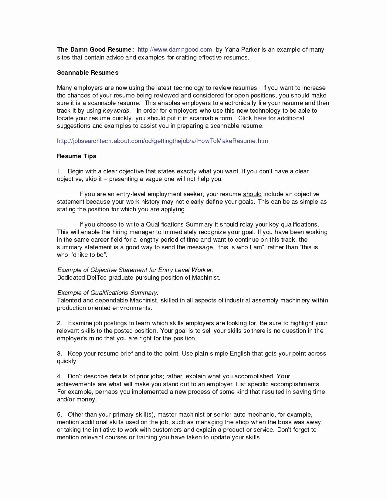 General Resume Objective Awesome Example Resume About