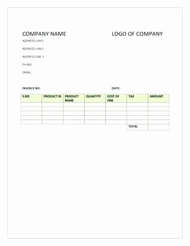 Generic Invoice Template – Pranksmonkeyub