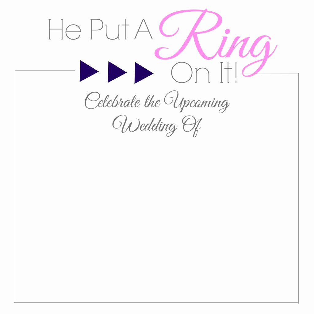 Geometric Diamond Bridal Shower Invitations Video