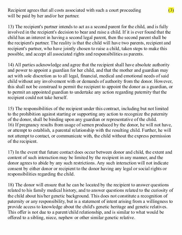 Gerardo Lagunes 3 Party Sperm Donor Contract 2013 2