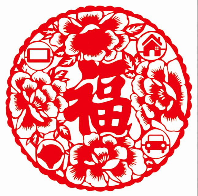 Get 2015 New Year Chinese Characteristics Paper Cut