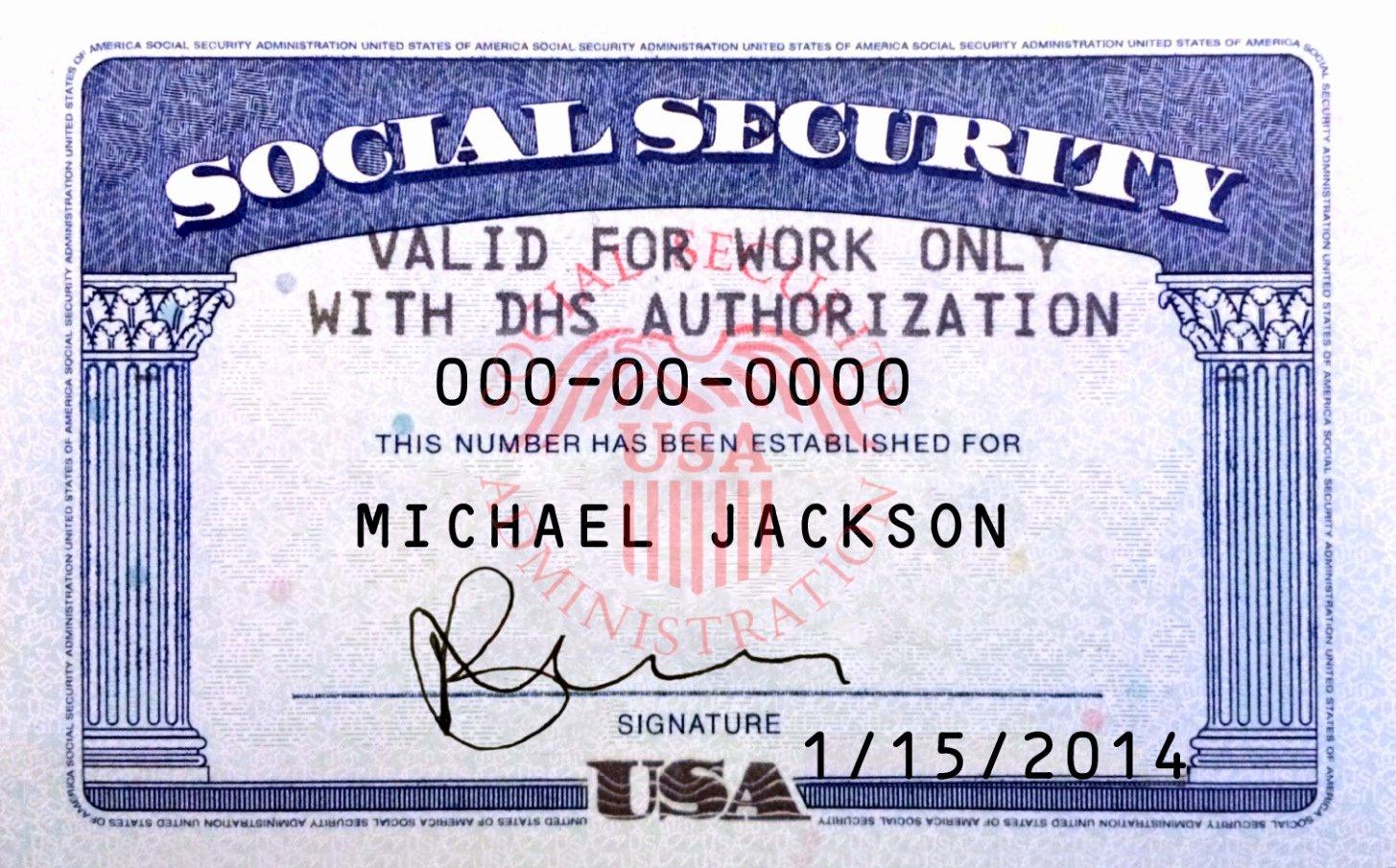 Get Fillable social Security Card Template Blank social