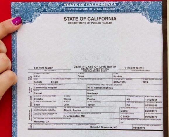 Get Vital Record Birth Certificate
