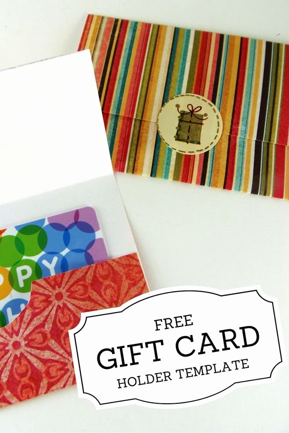 Gift Card Holders Printable T Cards and Gift Cards On
