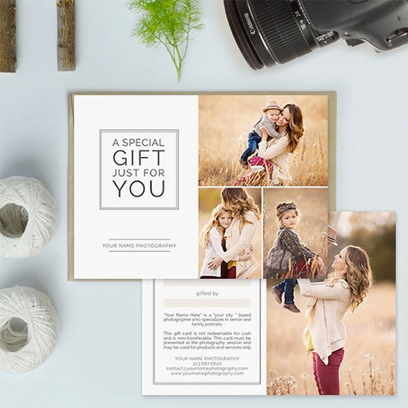 Gift Card Template 14 Free Sample Example format