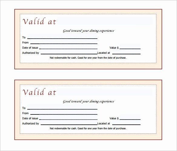 Gift Certificate Template 42 Examples In Pdf Word In