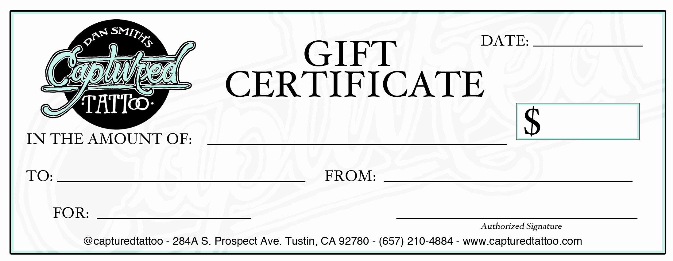 Gift Certificate Template Google Docs Beautiful Template