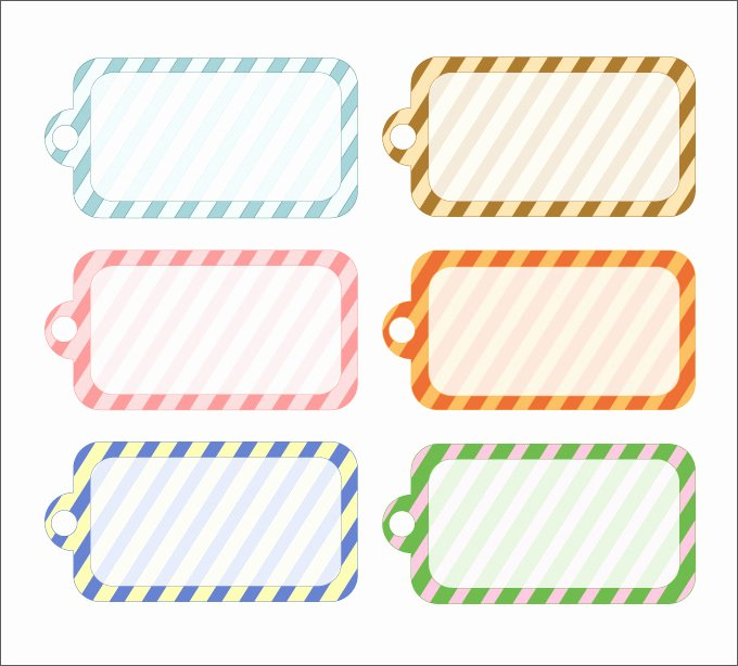 Gift Tag Template 27 Free Printable Vector Eps Psd