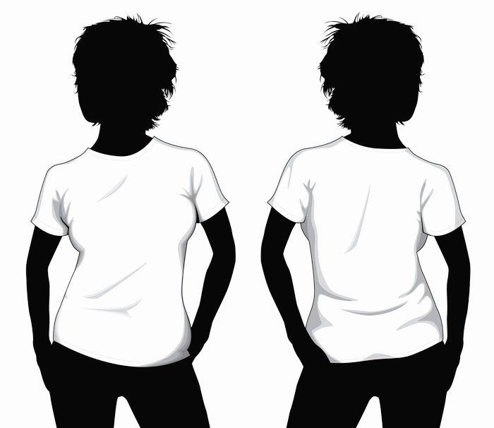 Girl T Shirt Template by Muraviedo On Deviantart