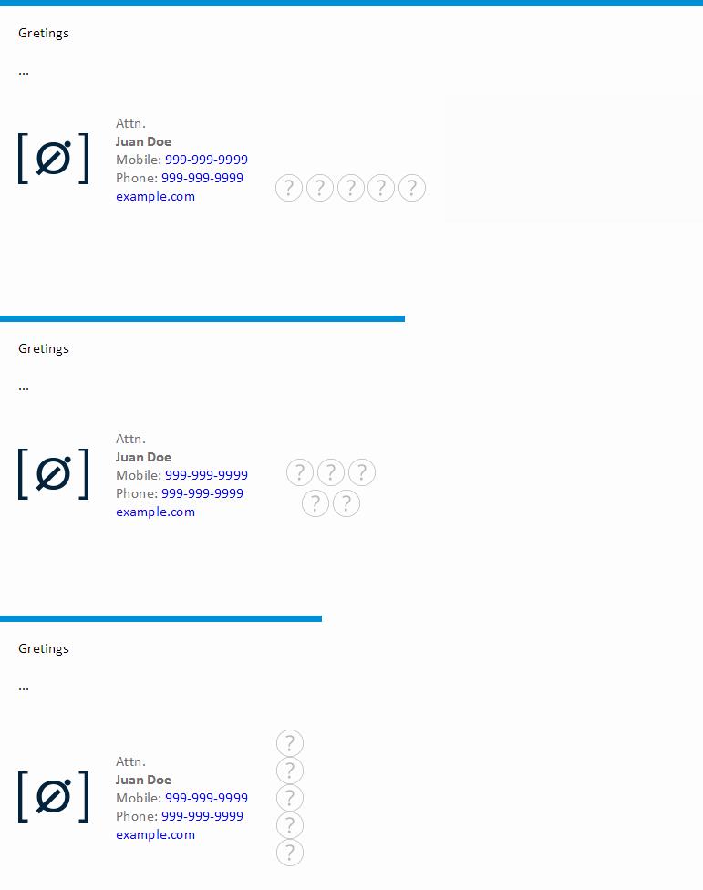 Github Iocreativo HTML Minimal Email Signature Template