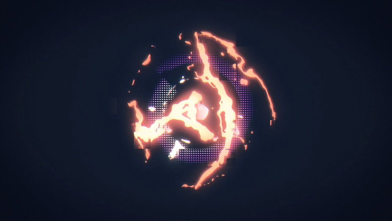 Glitchy Free 2d Intro Template after Effects Free Intro