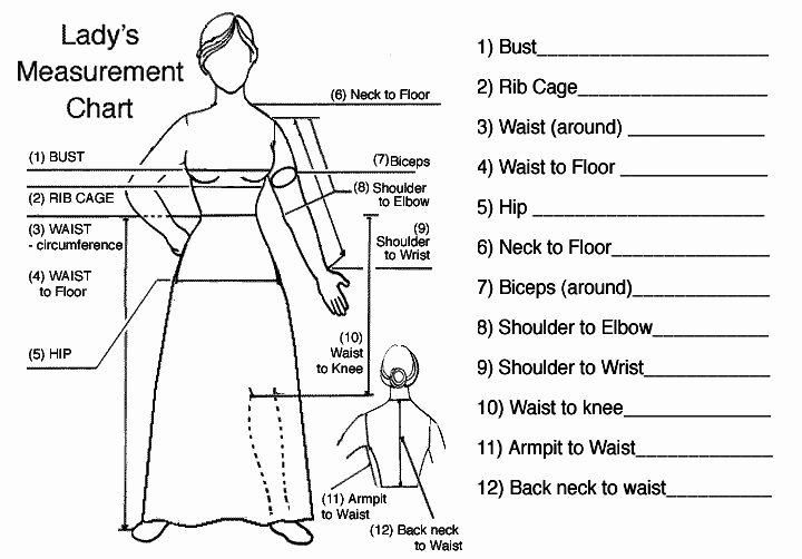 Godwins Size Chart and Instructions Odwin