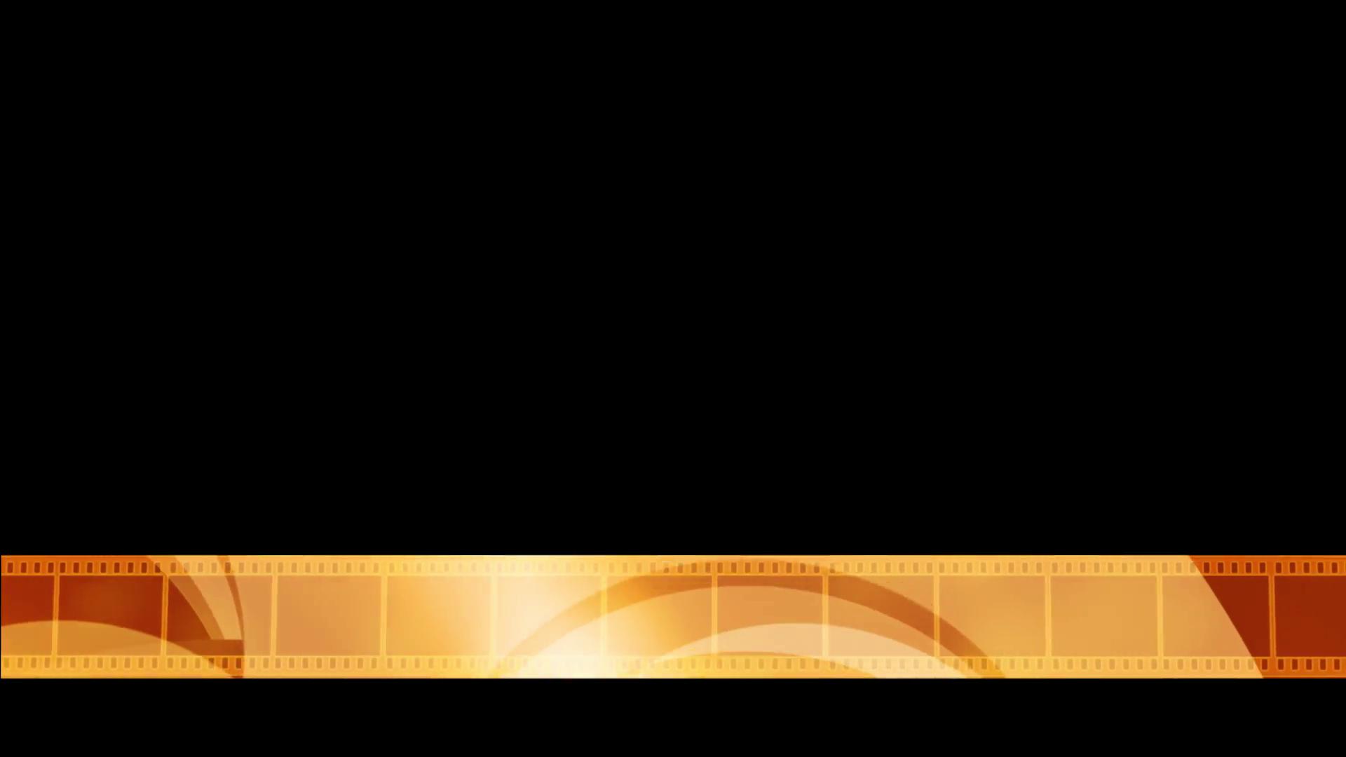 Golden Reel Lower Third Stock Video Footage Videoblocks