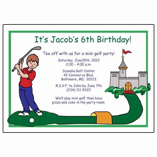 Golf Birthday Invitations Ideas – Bagvania Free Printable