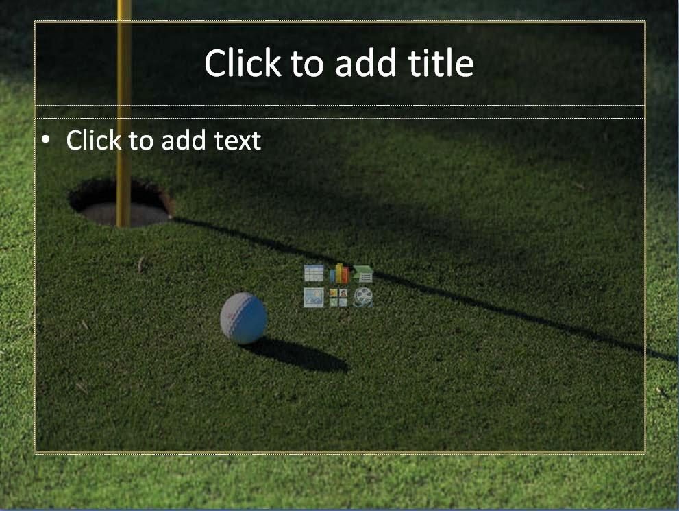 Golf Template 1