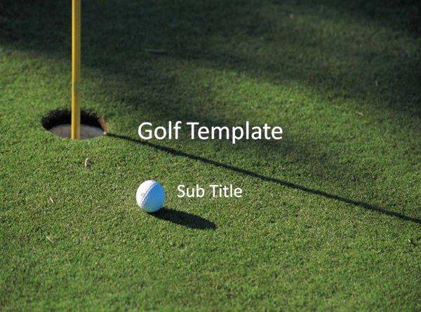 Golf Template