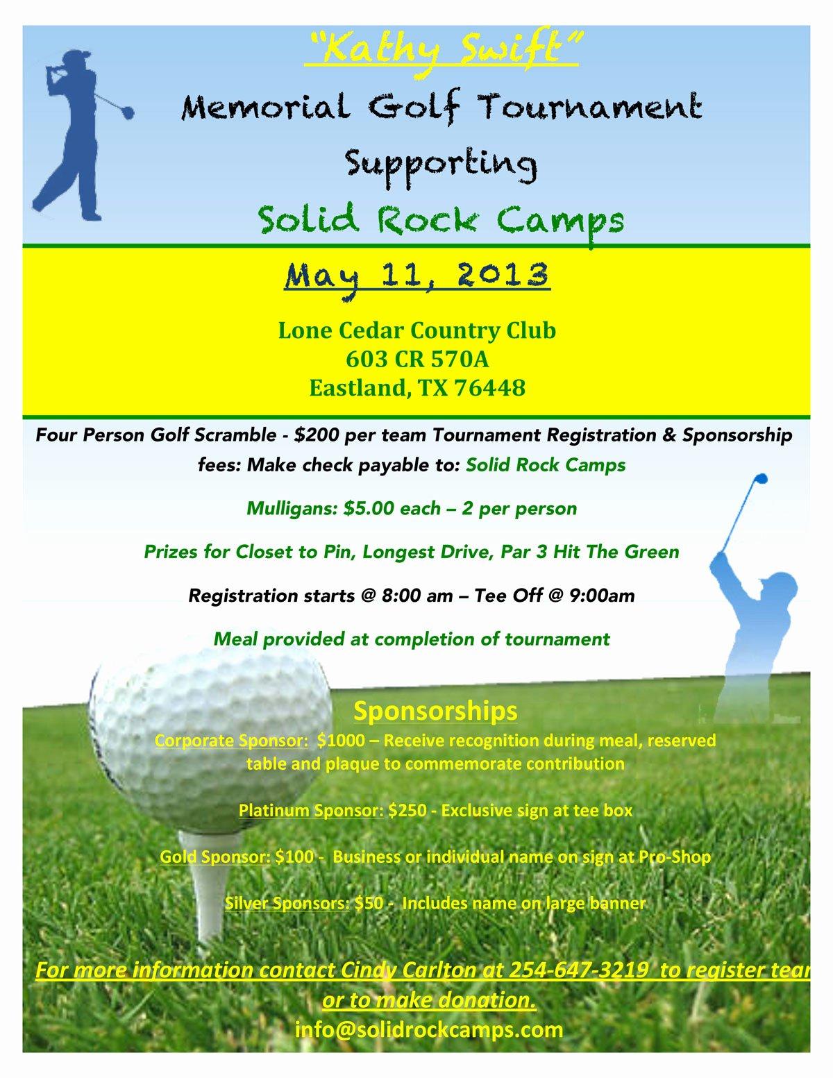 Golf tournament Brochure Template Fresh Flyer Gol Golf