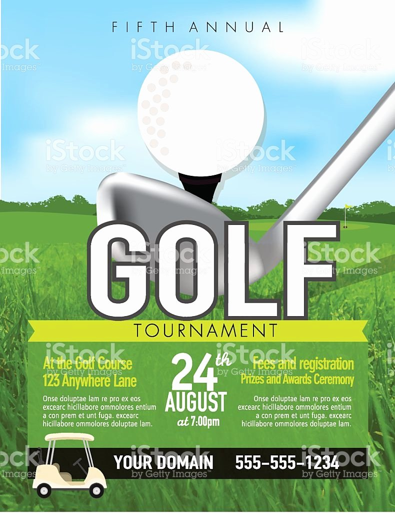 Golf tournament Flyers Template