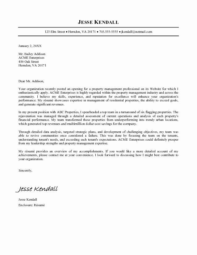 Good Cover Letter Sample for Job Application 2016