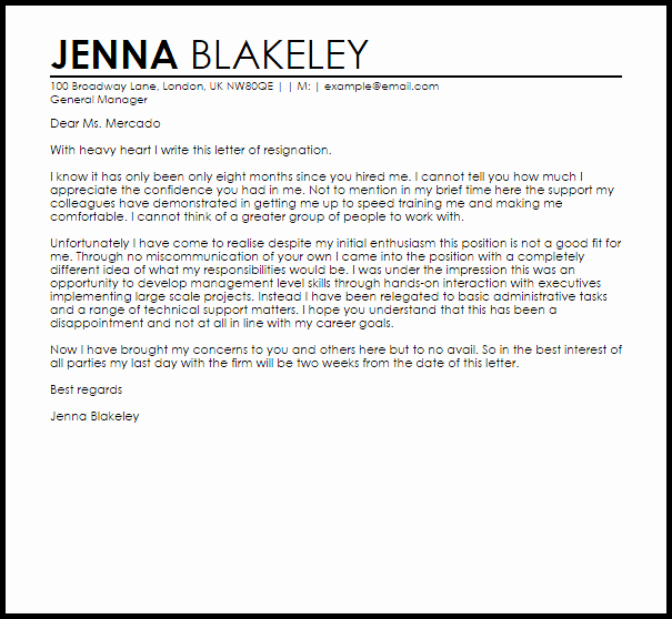 Good Covering Letter Templates