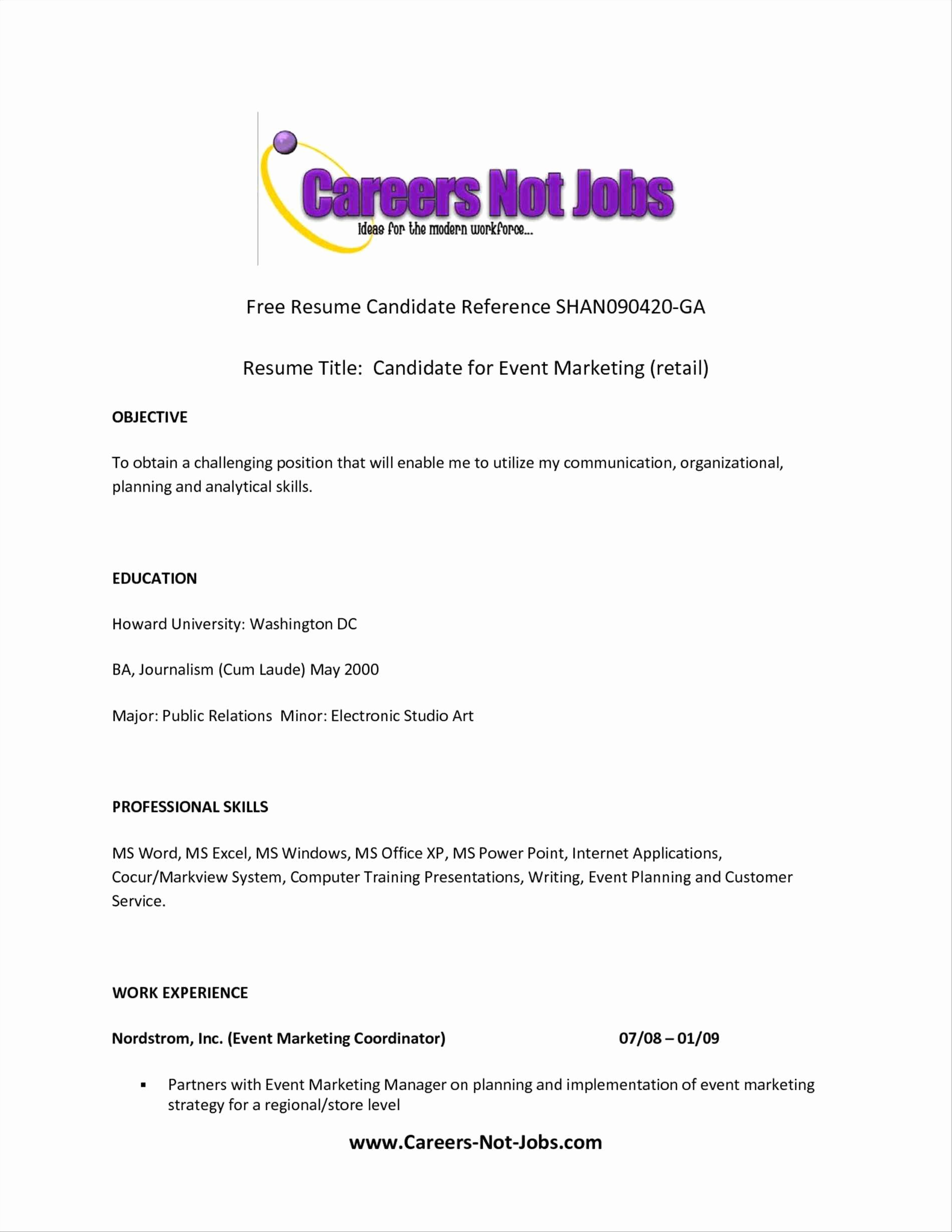 Good Example Resume Title Sidemcicek