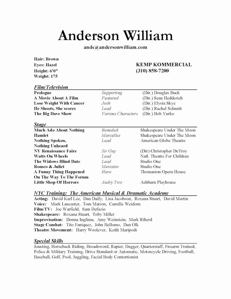 Good Skills to Put A Resume Samplebusinessresume