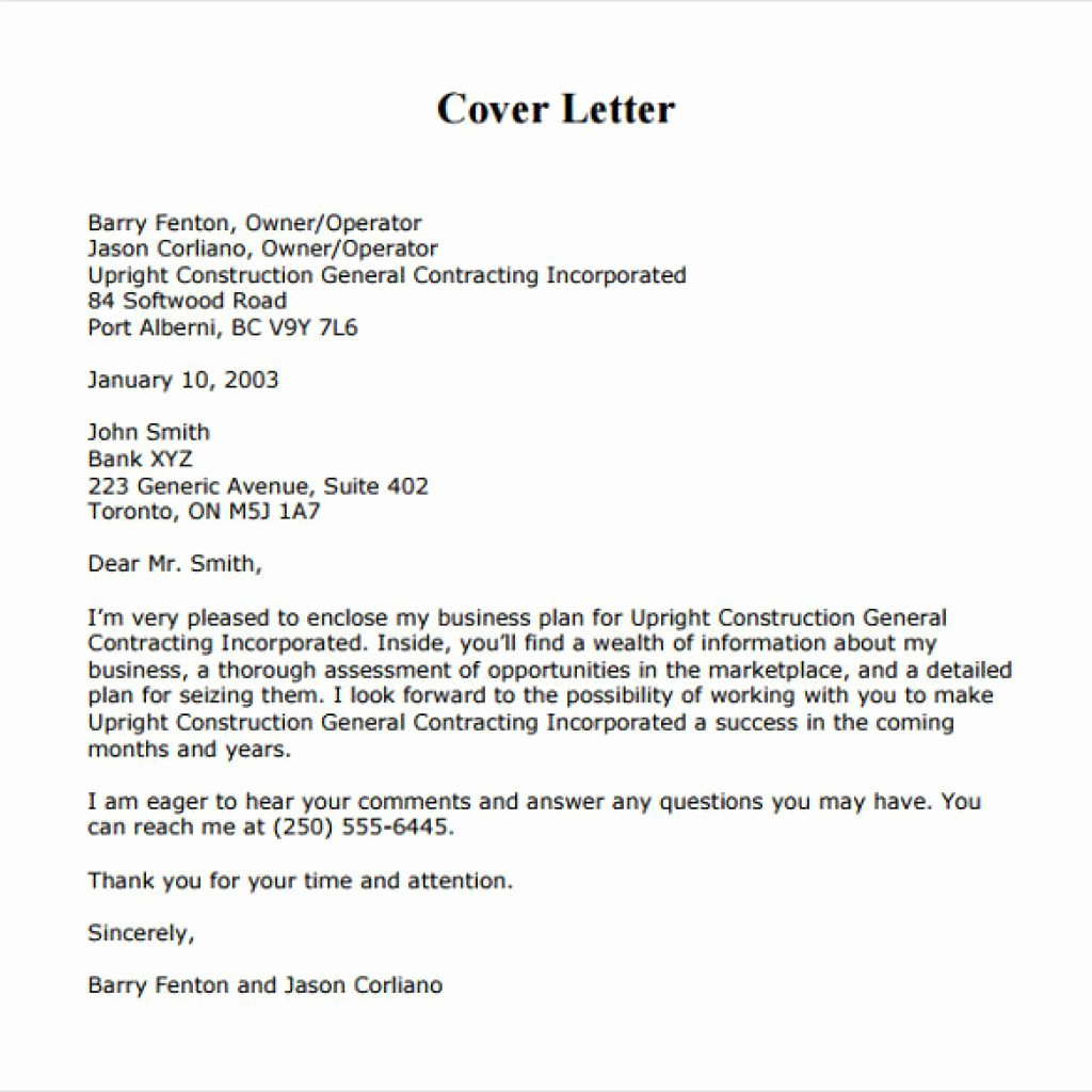 Goodly Business Cover Letter Examples – Letter format Writing
