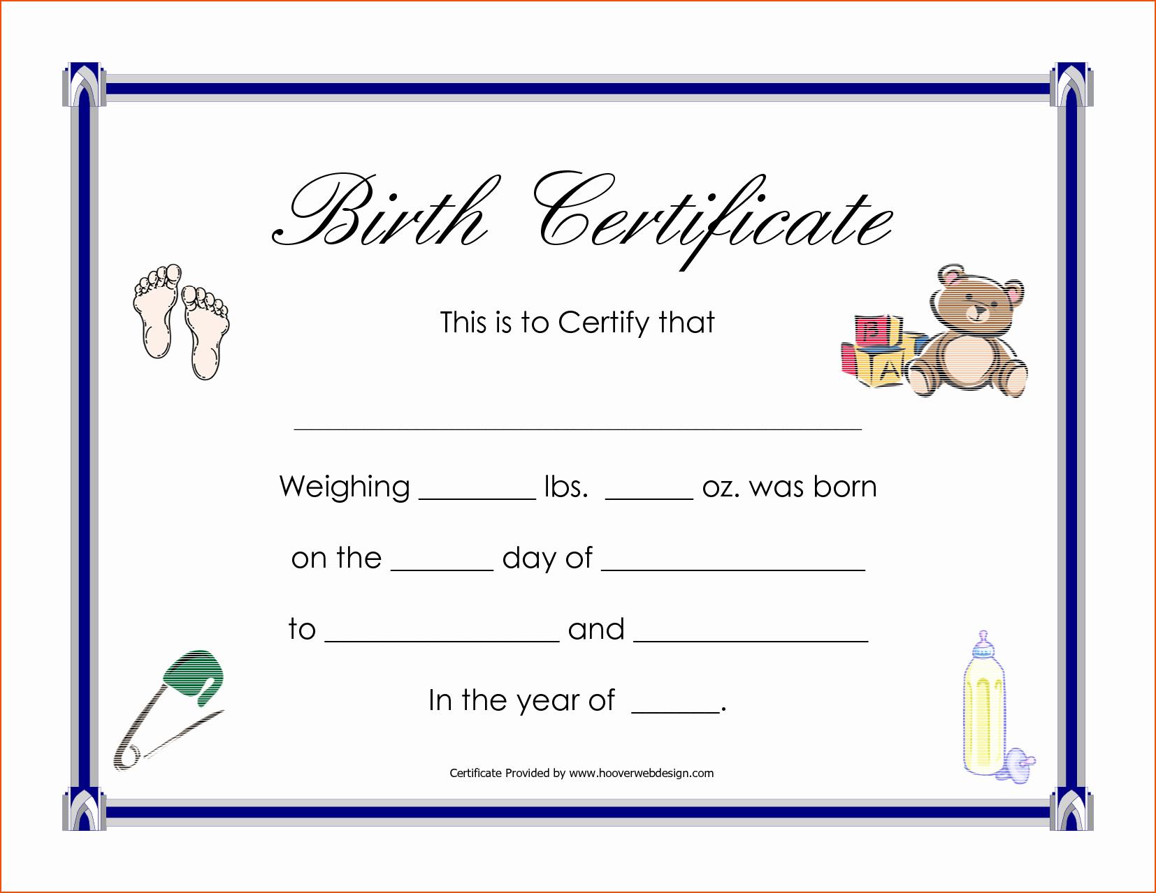 Google Doc Certificate Template