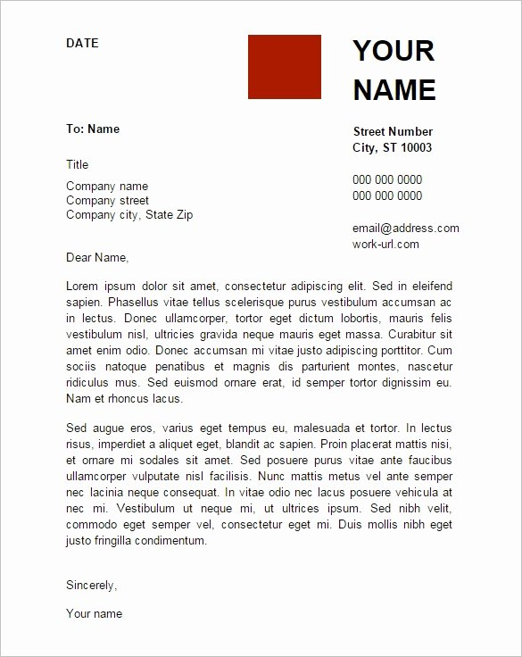 Google Doc Cover Letter Template Letter Template