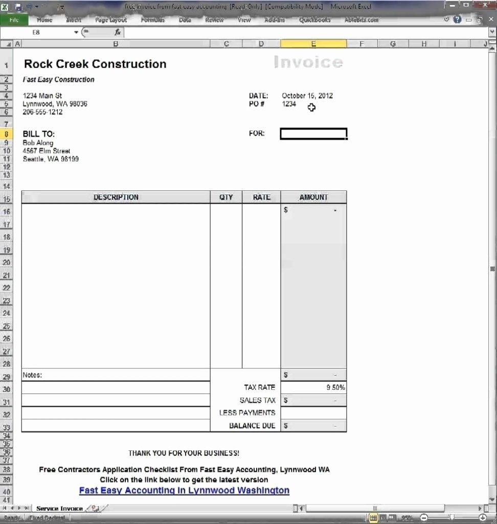Google Doc Template Invoice Invoice Template Ideas