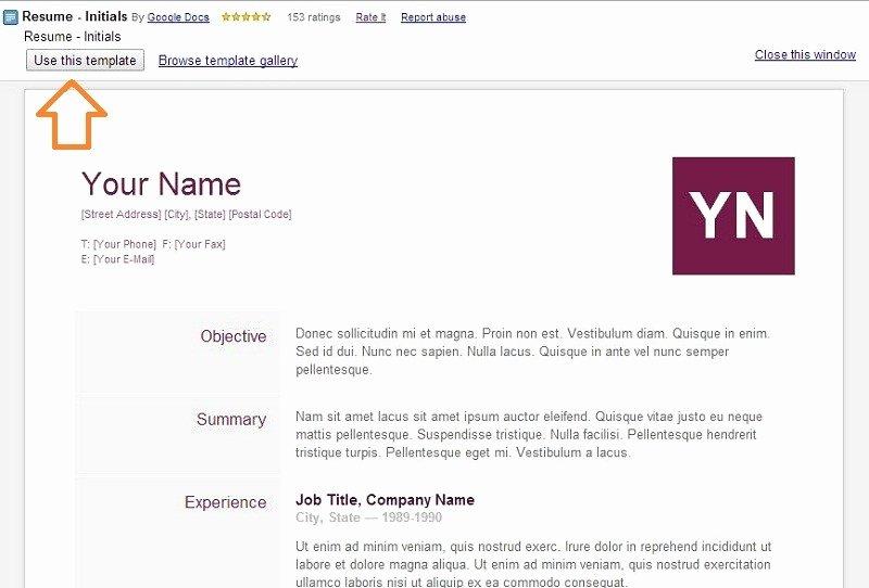 Google Doc Templates Resume Best Resume Gallery