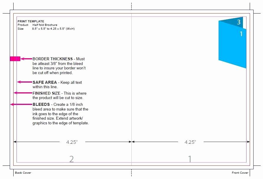Google Docs Tri Fold Brochure Template Choice Image