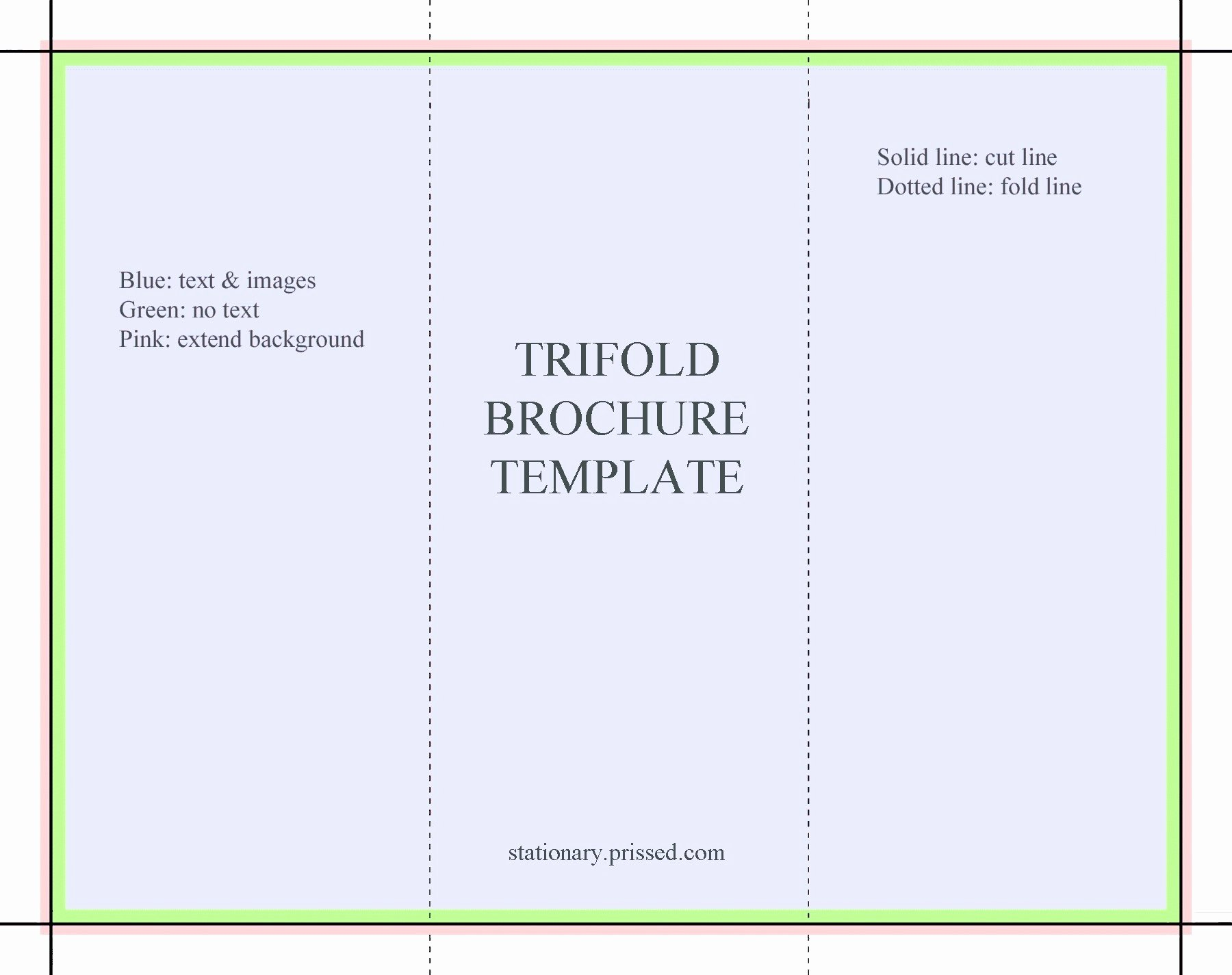 Google Docs Trifold Template