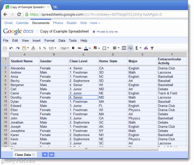 Google Spreadsheet Templates Beepmunk
