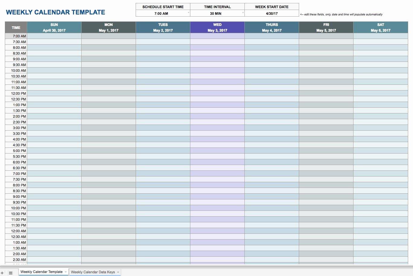 Google Spreadsheet Templates