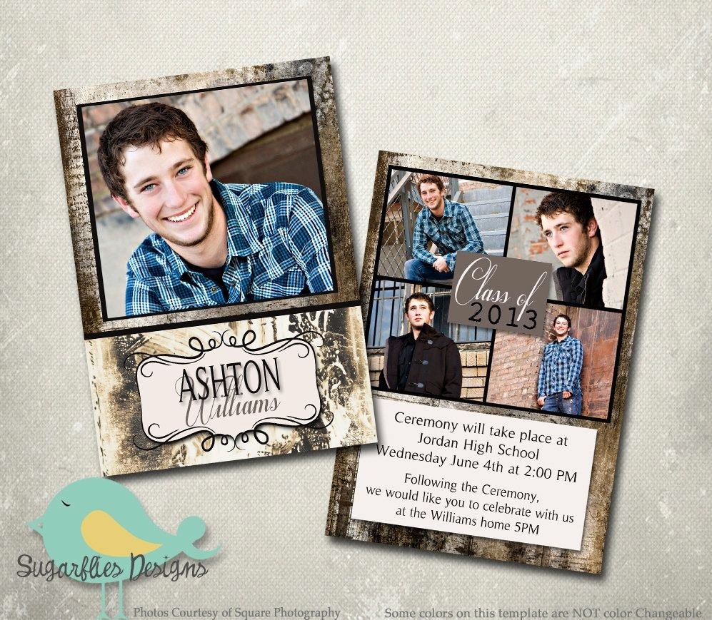 Graduation Announcements Templates Free Google