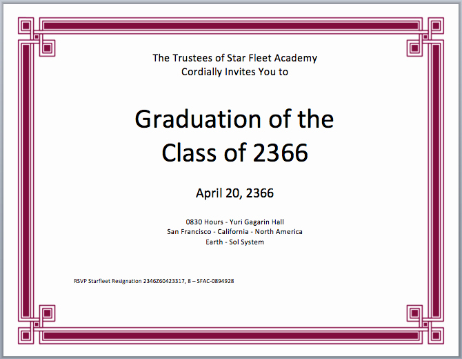 Graduation Certificate Templates to Pin On