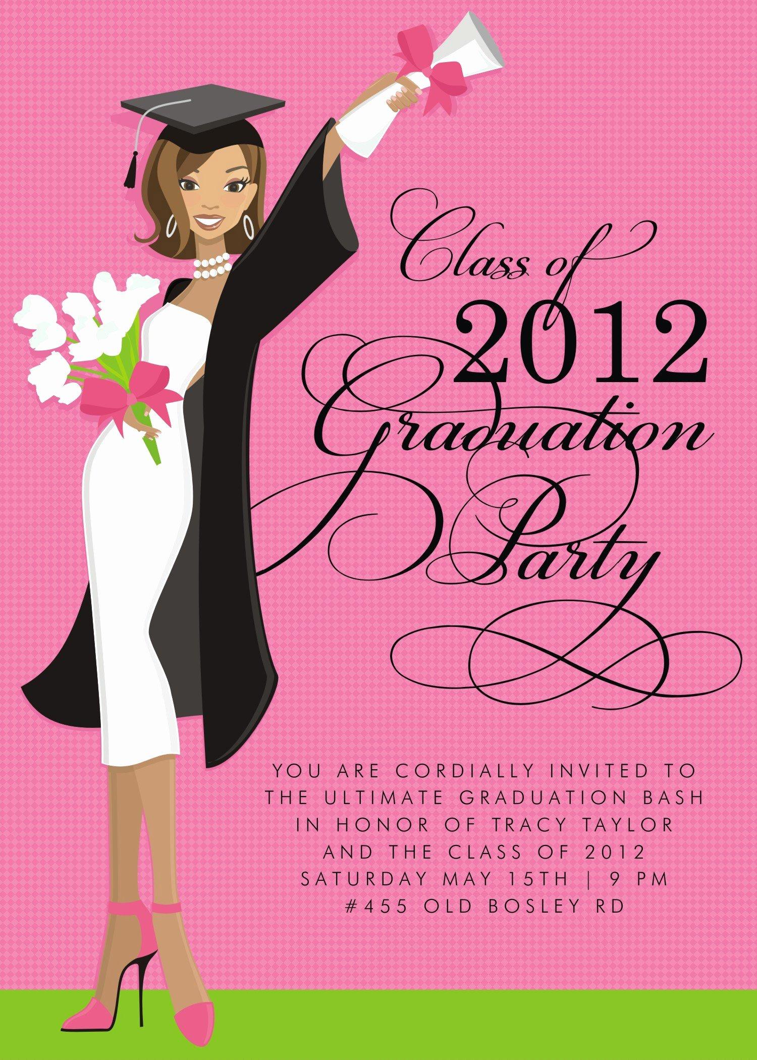 Graduation Invitation Free Graduation Invitation