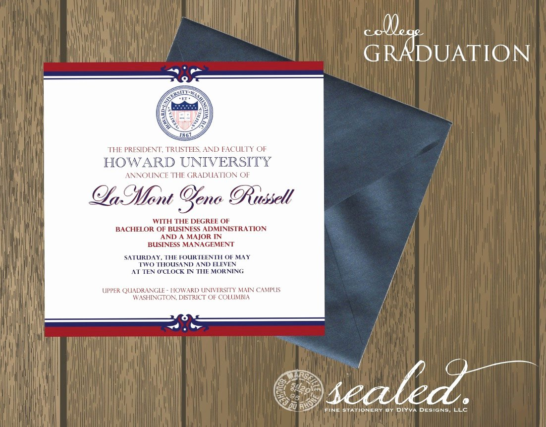 college graduation invitation wording