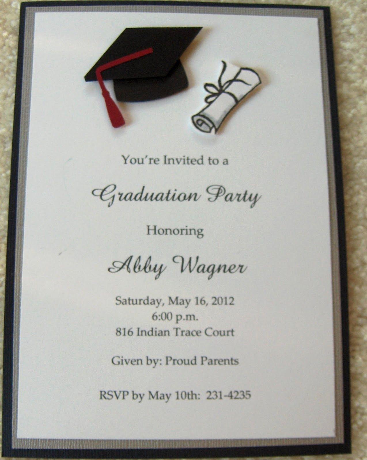 Graduation Invitations Google Search