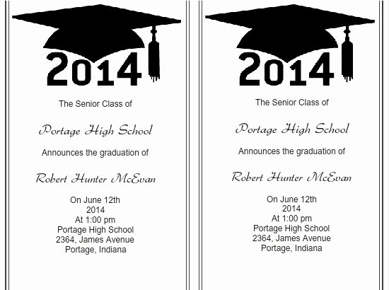 Graduation Invitations Templates 2014 Cobypic