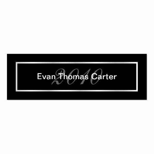Graduation Name Cards Business Card Templates Page2