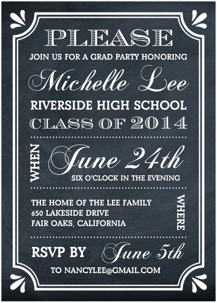 Graduation Party Invitations Graduation Party
