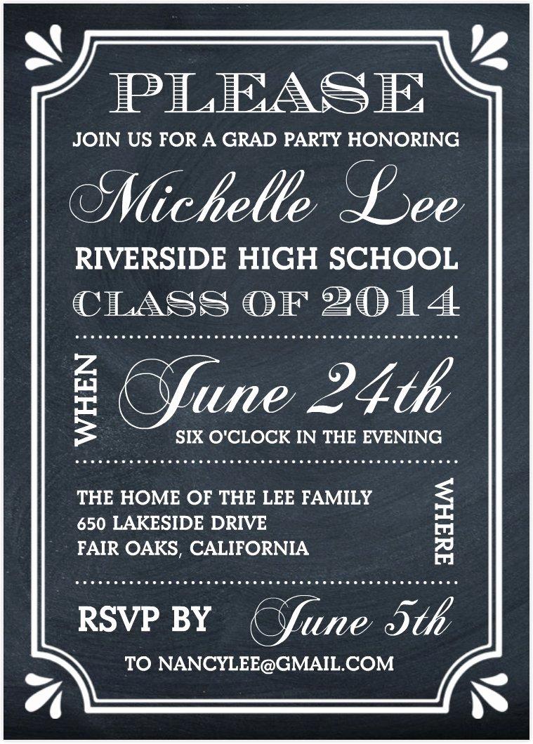 Graduation Party Invitations Graduation Party